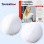 """3/8"""" Thick Covered Tear-Drop Raglan White Only"""