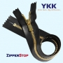 YKK Excella Closed Bottom 100% Leather